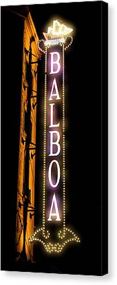 Balboa Theater Canvas Print by Stephen Stookey