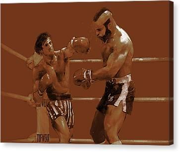 Balboa V. Lang Canvas Print by Kurt Ramschissel
