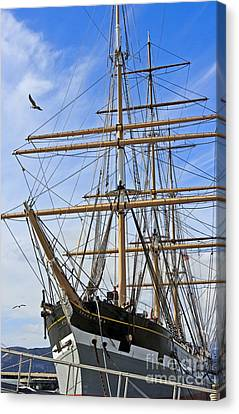 Canvas Print featuring the photograph Balclutha by Kate Brown