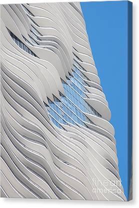 Balconies Canvas Print by Ann Horn