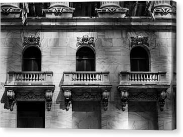 Balconies At Nyse  Canvas Print