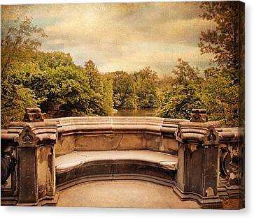 Balcony Bridge Canvas Print by Jessica Jenney
