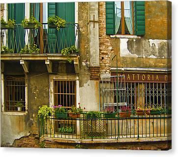 Balcony Canvas Print by Francois Girard