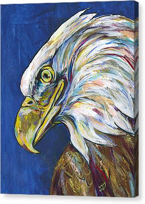 Bald Eagle Canvas Print by Lovejoy Creations