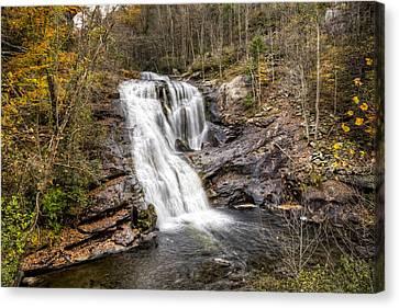 Bald River Waterfall Canvas Print by Debra and Dave Vanderlaan