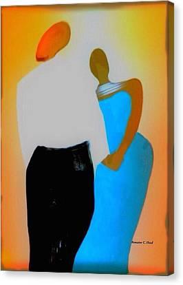 Baldheadlove Canvas Print