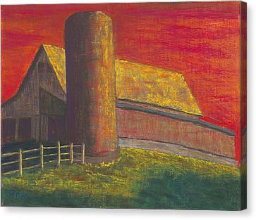 Balducci Sunset Canvas Print by Garry McMichael
