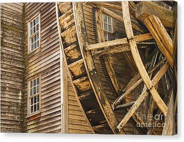 Bale Grist Mill Canvas Print by Bob Phillips