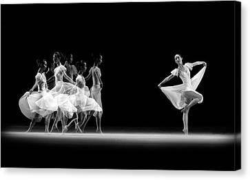 Ballerinas Canvas Print - Balerina Movement by Antonyus Bunjamin (abe)