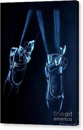 Balerinas Canvas Print by Anna Androsovski