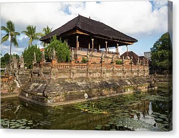 Bale Canvas Print - Bali, Indonesia The Bale Kambang by Charles O. Cecil