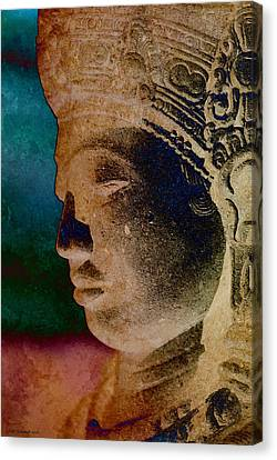 Balinese 3 Canvas Print by WB Johnston