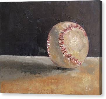 Ball Number 2 Canvas Print by Lindsay Frost