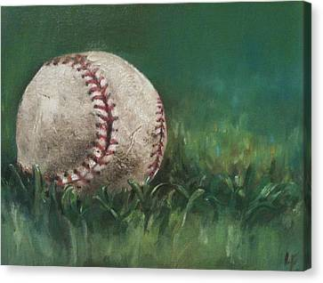 Ball Number One Canvas Print by Lindsay Frost
