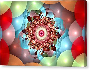 Ball Pit Universe Canvas Print by Anastasiya Malakhova