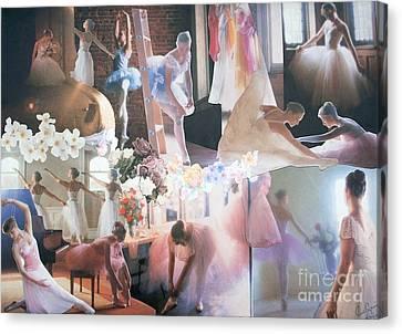 Ballarina Beauty - Sold Canvas Print by Judith Espinoza