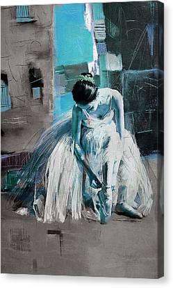Ballerina 21 Canvas Print by Mahnoor Shah