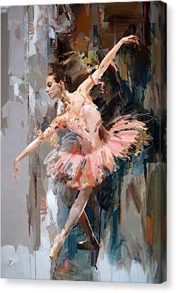 Ballerina 29 Canvas Print by Mahnoor Shah
