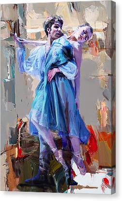 Ballerina 37 Canvas Print by Mahnoor Shah