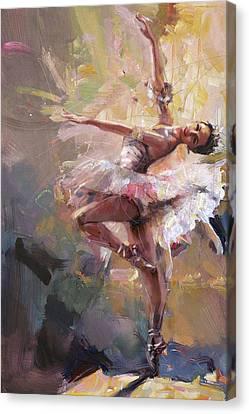 Ballerina 40 Canvas Print by Mahnoor Shah