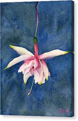 Ballerina Flower Canvas Print by Ken Powers