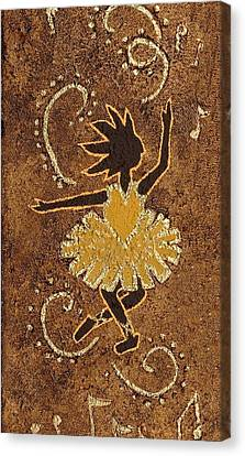 Ballerina Canvas Print by Katherine Young-Beck