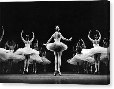 Ballet Dancers Canvas Print - Ballerina Margot Fonteyn by Eliot Elisofon