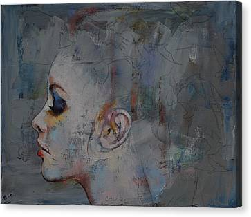 Ballet Dancers Canvas Print - Ballerina by Michael Creese