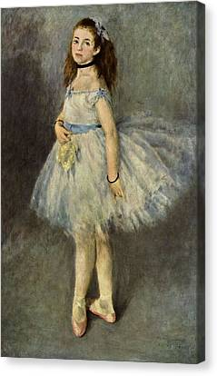 Canvas Print - Ballerina by Pierre Auguste  Renoir