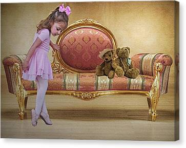 Ballerina Canvas Print by Sharon Lisa Clarke