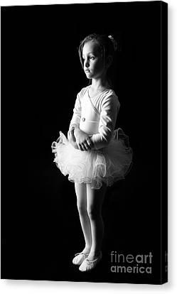 Ballerina Canvas Print by Suzi Nelson