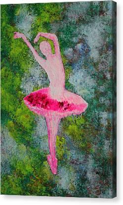 Ballerina Canvas Print by Vinita C