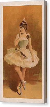 Ballet Canvas Print by Aged Pixel