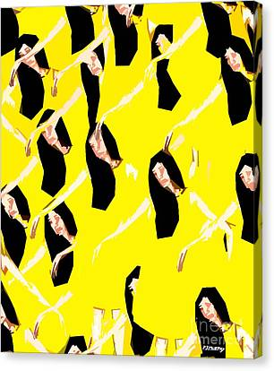 Ballet Dancers Canvas Print by Patrick J Murphy