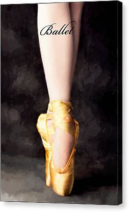 Ballet Canvas Print by David Perry Lawrence