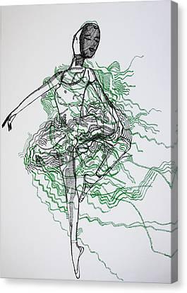 Ballet Canvas Print by Gloria Ssali