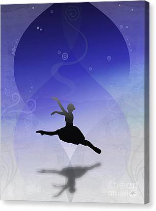 Ballet In Solitude  Canvas Print by Bedros Awak
