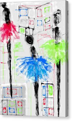 Ballet School Canvas Print by Rc Rcd
