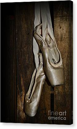 Ballet Shoes Canvas Print by Paul Ward