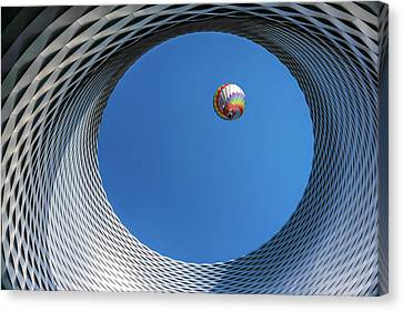 Hot Air Canvas Print - Ballon [ O ] by Markus Lissner