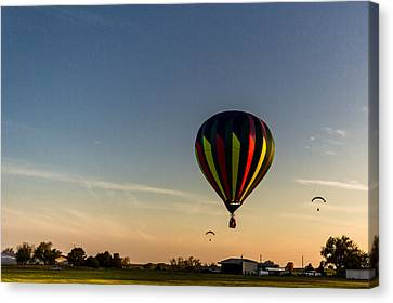Canvas Print featuring the photograph Balloon 8 by Jay Stockhaus