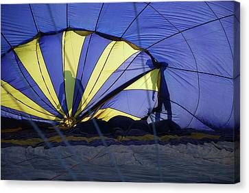 Canvas Print featuring the photograph Balloon Fantasy 4 by Allen Beatty