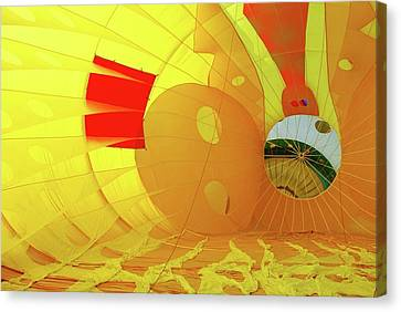 Canvas Print featuring the photograph Balloon Fantasy 6 by Allen Beatty