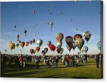 Balloon Fest Canvas Print
