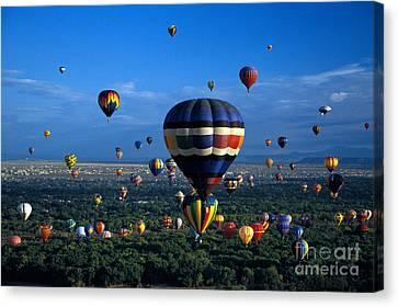 Balloon Festival Canvas Print