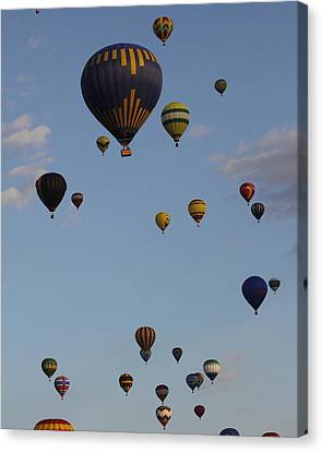 Balloon Festival Canvas Print by Mustafa Abdullah