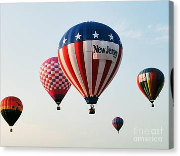 Balloon Festival Canvas Print by Steven Spak