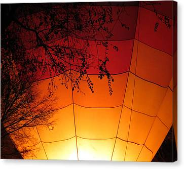 Balloon Glow Canvas Print