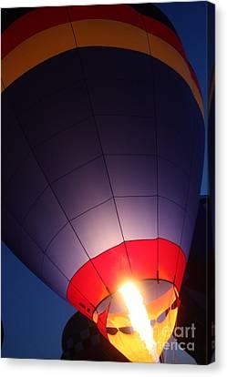 Balloon-glowpurple-7710 Canvas Print by Gary Gingrich Galleries