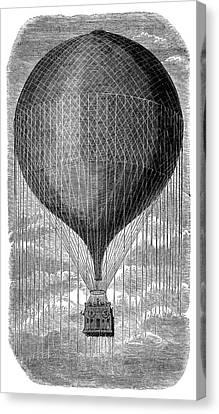 Balloon 'le Geant' Canvas Print